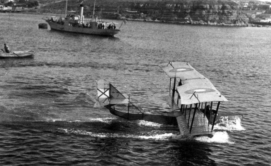 Гидросамолет (летающая лодка) М-5