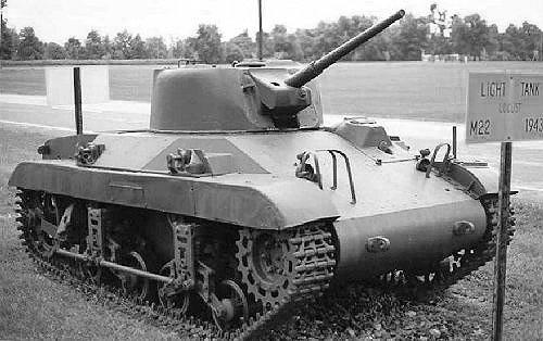 Легкий танк M22 «Locust»