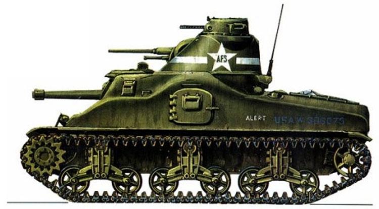 Средние танки M3 «Генерал Ли» и  M3 «Генерал Грант»