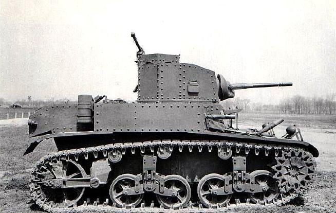 "Легкий танк М3 ""Стюарт"". Танки США в WWII"