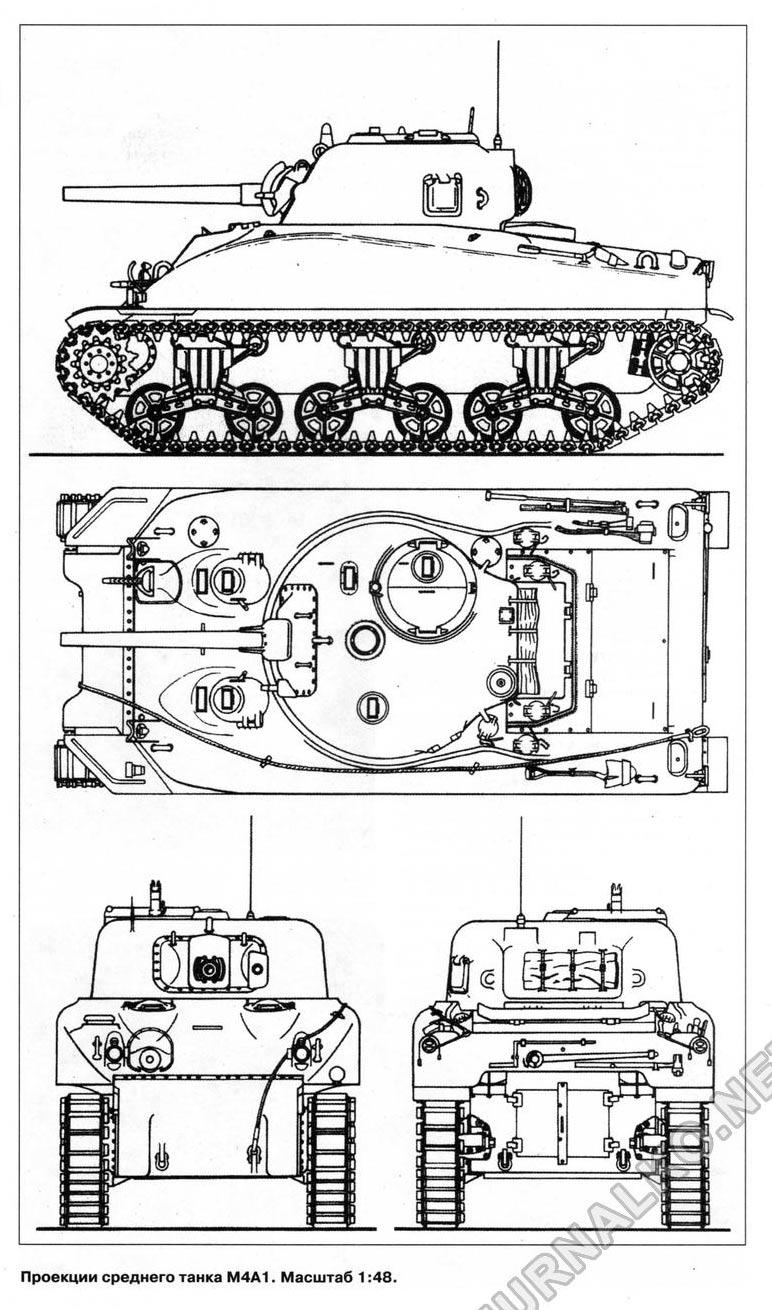 """Средний танк M4A1 """"Шерман"""""""