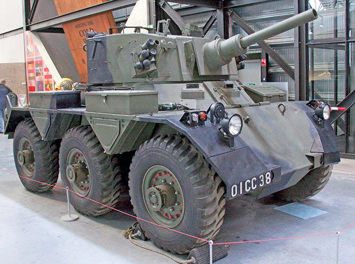 Бронеавтомобиль FV601 «Саладин»