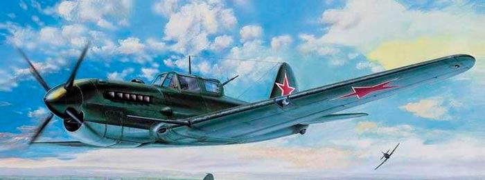 Штурмовик Су-6 с двигателем АМ-42