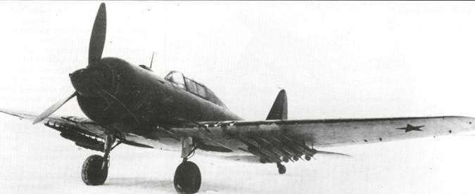 Штурмовик Су-6 с двигателем М-71