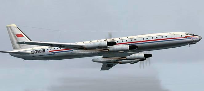 Ту-114 - пассажирский лайнер созданный на основе Ту-95