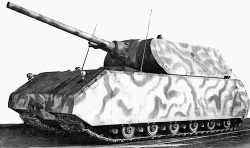 Тяжелый танкPz.Kpfw.VIII «Maus»