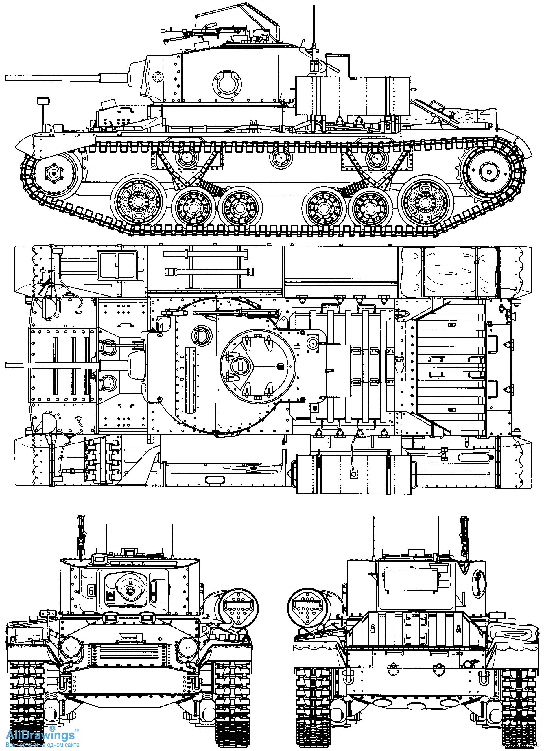 "Легкий танк Mk.III ""Валентайн"" (Valentine)"