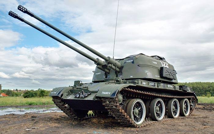 57-мм зенитная самоходная установка ЗСУ-57-2