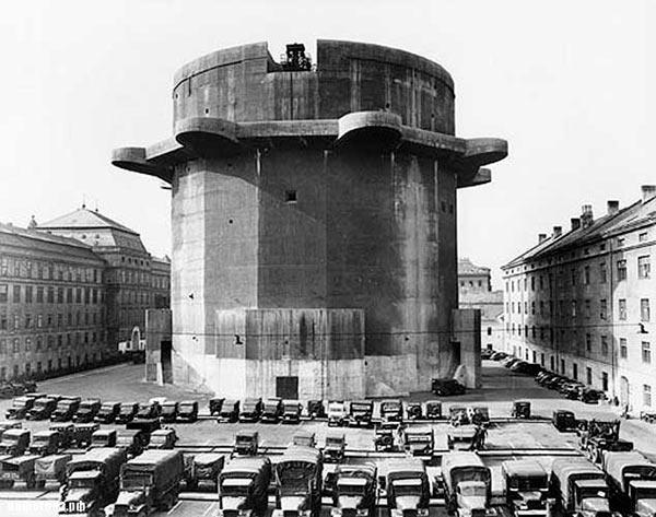 Боевая башня ПВО в Вене
