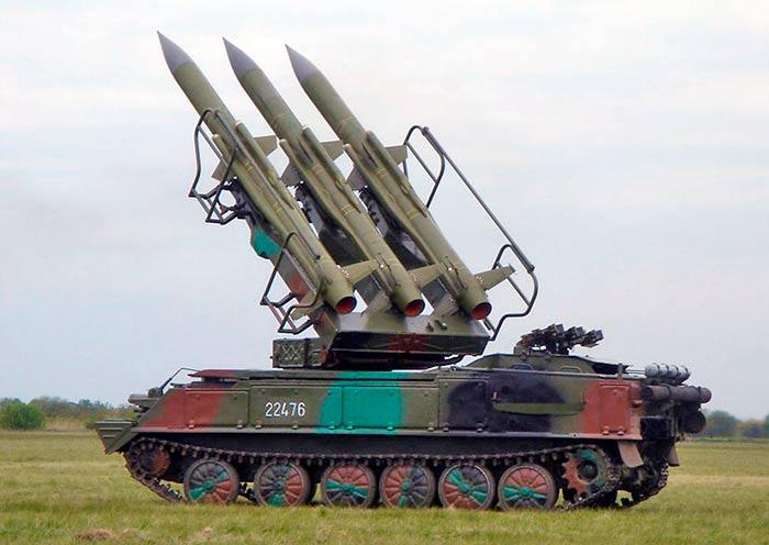 """Зенитный ракетный комплекс 2К12 """"Куб"""""""
