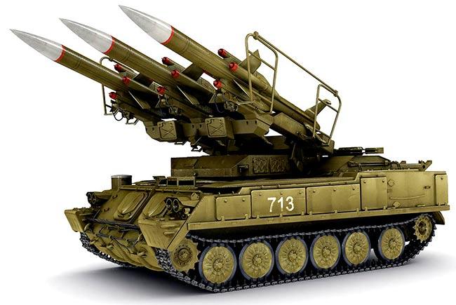 Зенитный ракетный комплекс 2К12 «Куб»
