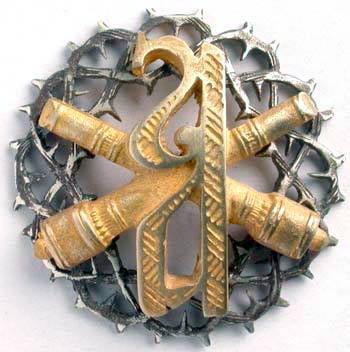 Знак Алексеевского артиллерийского дивизиона.