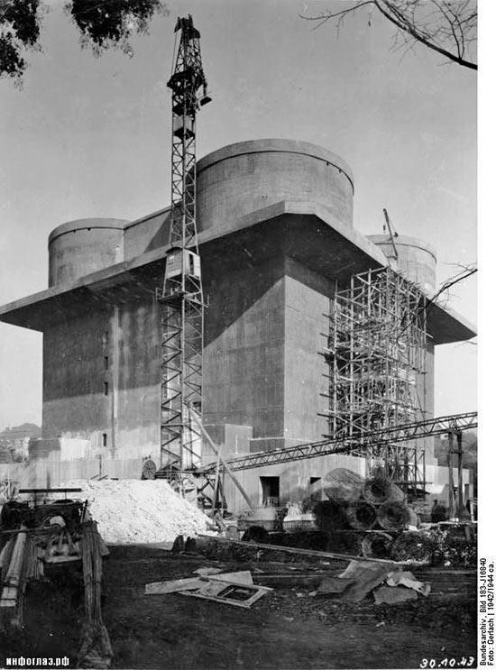 """Строительство башни ПВО """"второго поколения"""""""
