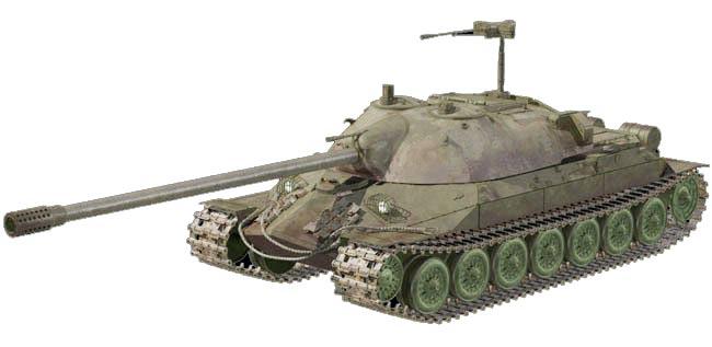 Тяжелый танк ИС-7 («Объект 260»)