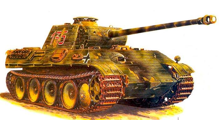 Тяжелый танкPz.Kpfw.V «Пантера»