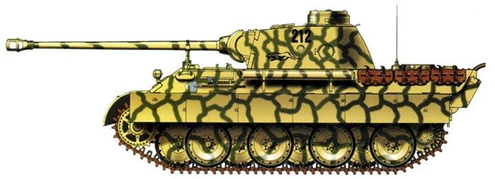 Тяжелый танкPz.Kpfw.V «Пантера» (Sd.Kfz.171)(Германия)