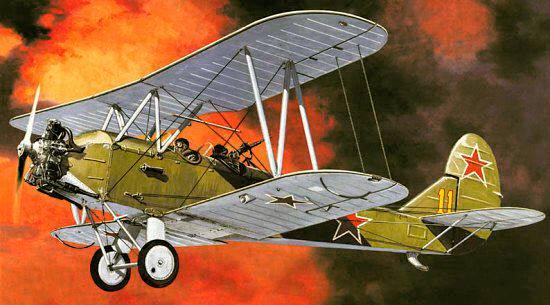 Самолет По-2 (У-2)