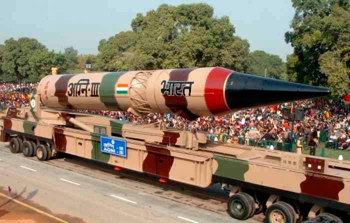 Индийская ракета Агни-3