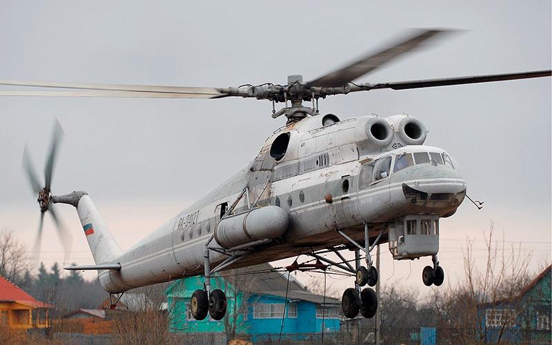 """""""Летающий Кран"""" Ми-10, одна из модификаций легендарного Ми-6"""