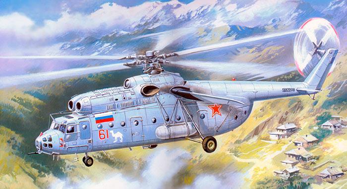 Транспортный вертолет Ми-6