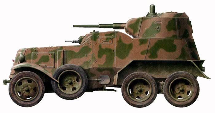 Средний бронеавтомобиль БА-10