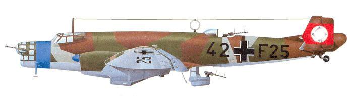 """Бомбардировщик Юнкерс Ju-86, """"исходный вид"""""""