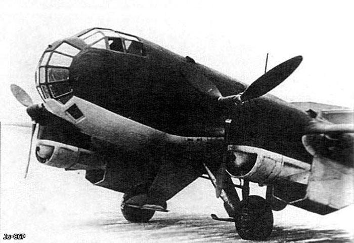 Кабина разведчика Ju-86P