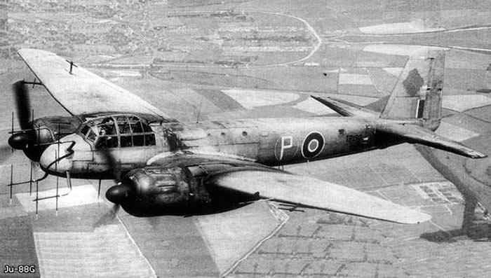 Ночной истребитель Ju-88G