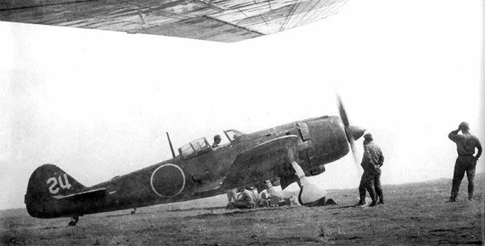 """Истребитель Ki-84 """"Hayate"""""""