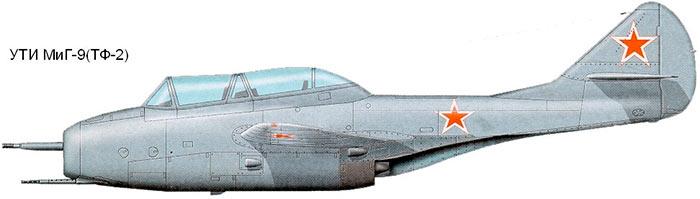 Учебно-тренировочный истребитель УТИ МиГ-9