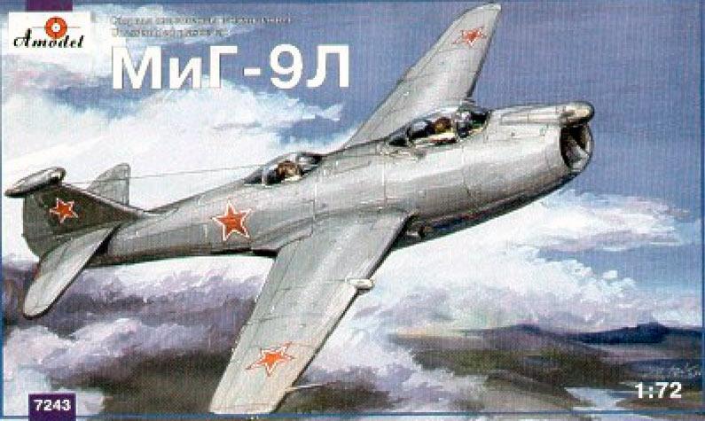 Летающая лаборатория МиГ-9Л