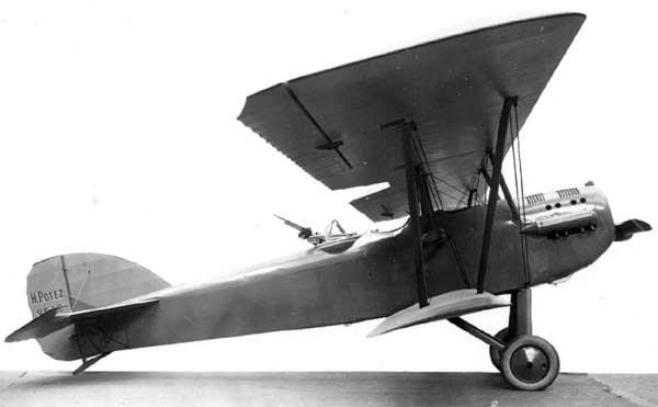 Французский разведчик/истребитель Potez 25TOE