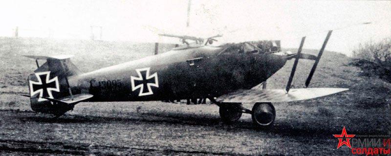 истребитель Hannover CL.III