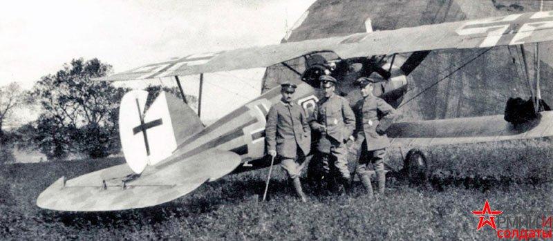 истребитель Albatros D.V