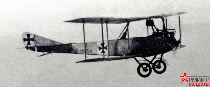 истребитель типа LVG В.II.