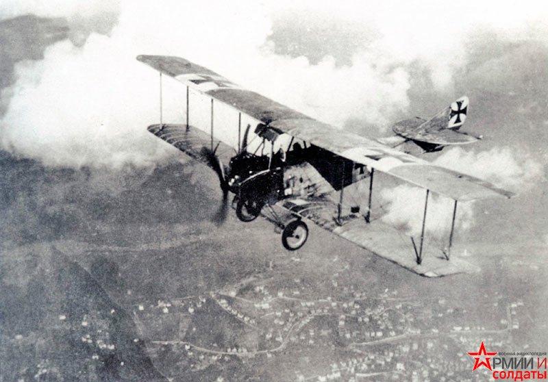 истребитель Aviatik C.I