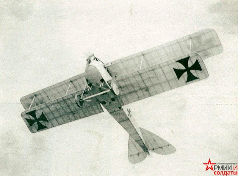 Истребитель LVG CII (LuftVerkehrsGesellscha