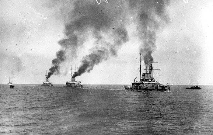 Рапорт командира корабля «Евстафий» о бое 5 ноября 1914 года с крейсером «Гебен» у мыса Сарыч