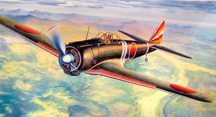 "Японский истребитель Ki-43 ""Hayabusa"""