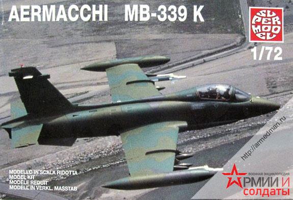 Одноместный вариант легкого штурмовика MB-339 Аэрмакки (Aermacchi )