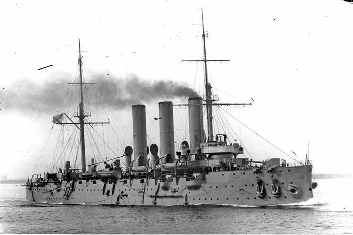 Крейсер Аврора в 1916 году
