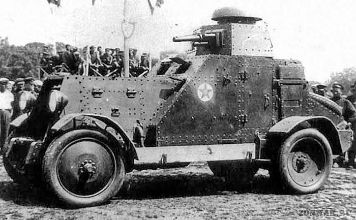 советский броневик БА-27