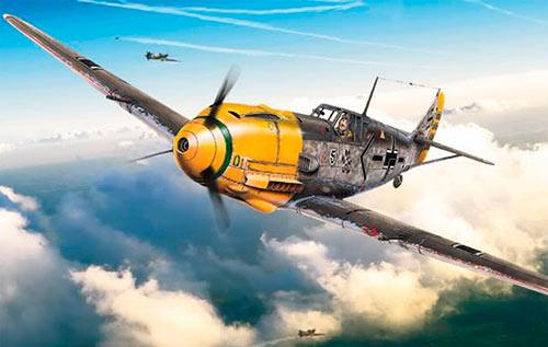 Истребитель Мессершмитт Bf-109