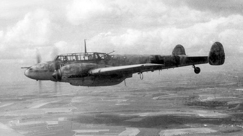 Ночной истребитель Bf-110