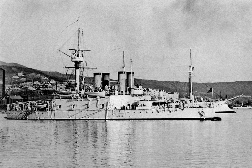 Броненосец «Наварин» балтийского флота