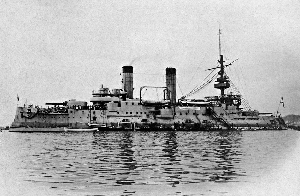 Эскадренный броненосец «Цесаревич»