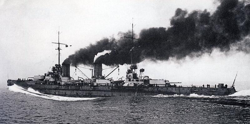 Линейный крейсер Фон дер Танн