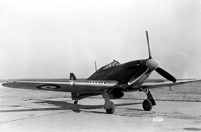 aircraft Hawker Hurricane