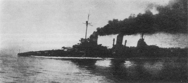 Линейный крейсер Зейдлиц, повреждения