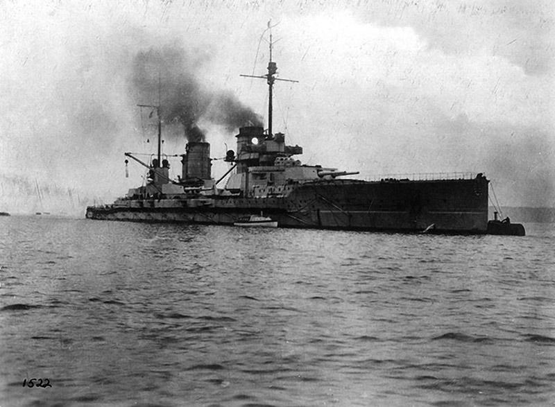 германский Линейный крейсер Зейдлиц